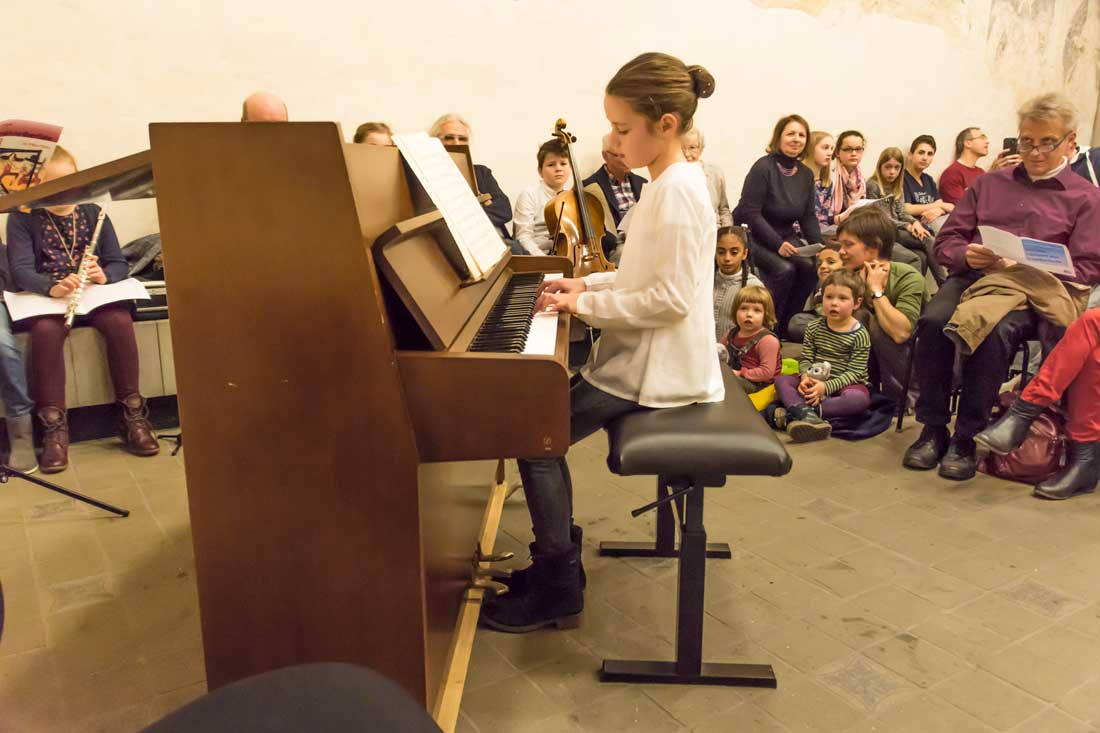 Lotta Reckziegel, Klavier