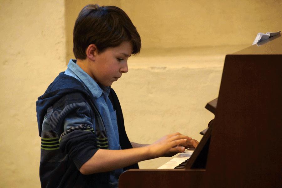 Schülervorspiel am 28. April 2016 in der Bernhardskapelle
