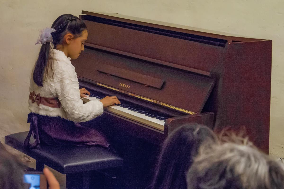 Julia Steudle, Klavier